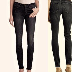 LUCKY BRAND Brooke Straight Black Wash Jeans